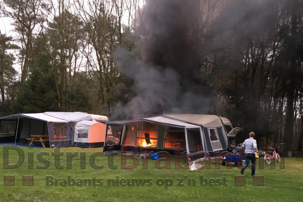 Camping De Paal in Noord Brabant, Bergeijk stacaravans